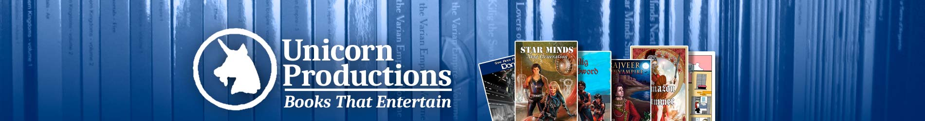 Unicorn Productions - books for adults with a youthful mind